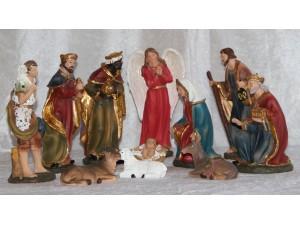 Krybbespilsfigurer, Julepynt, Dekoration, Fortælling